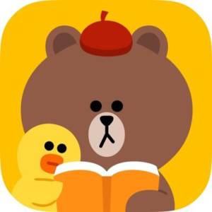 LINEマンガのアプリアイコン